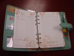 わたくしのスケジュール帳