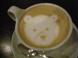 くまのカフェオレ