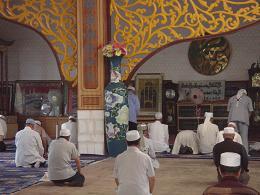 南観清真寺の礼拝