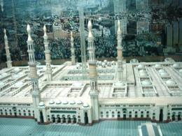 メディナのモスクの模型