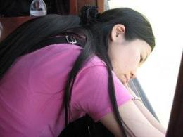 有里船で眠る