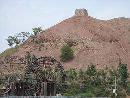 右上が万里の長城